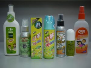 get rid of mosquitoes by using good repellents